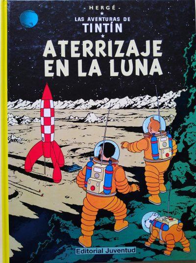 Las aventuras de Tintín. Aterrizaje en la Luna