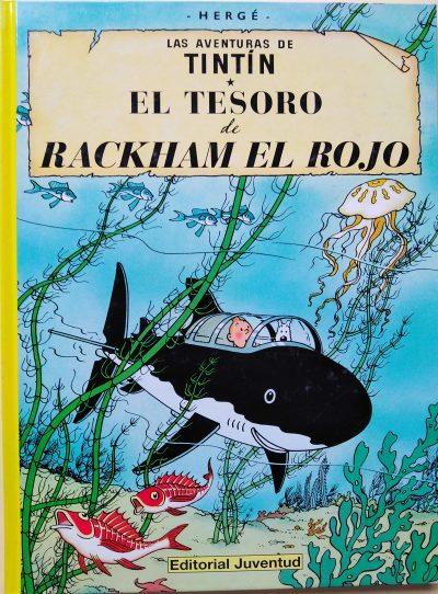 Las aventuras de Tintín. El Tesoro de Rackham el Rojo