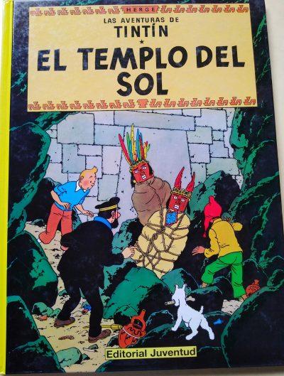 Las aventuras de Tintín. El templo del Sol