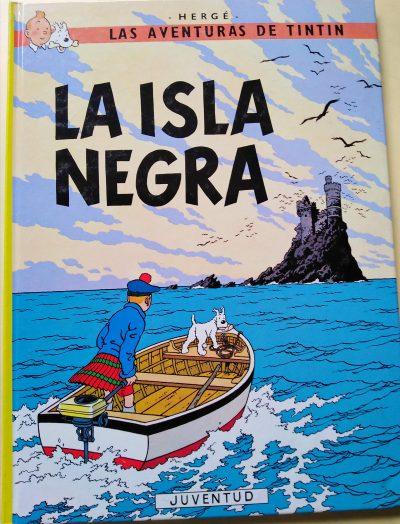 Las aventuras de Tintín. La Isla Negra