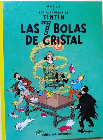 Las aventuras de Tintín. Las 7 Bolas de Cristal