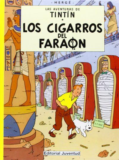 Las aventuras de Tintín. Los cigarros del Faraón