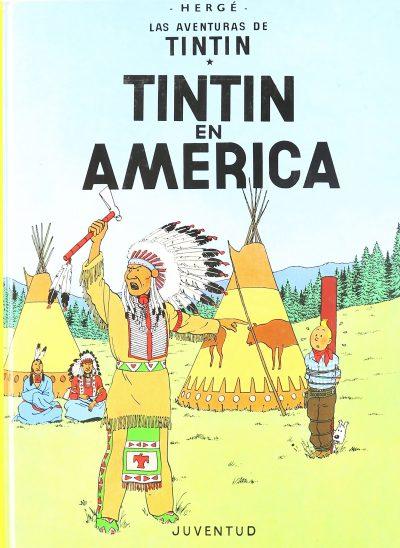 Las aventuras de Tintín. Tintín en América