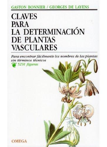 Claves para la determinación de plantas vasculares