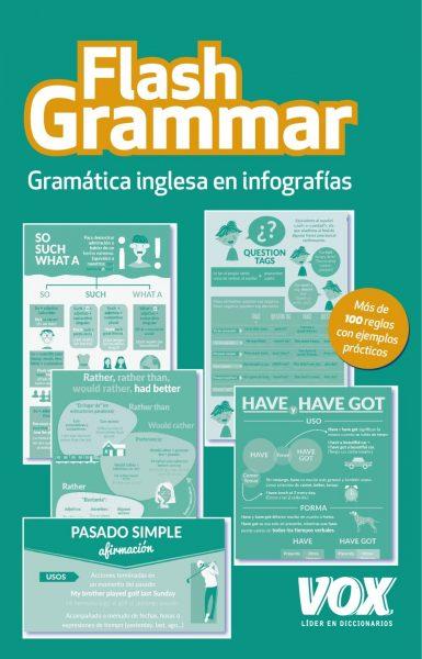 Flash Grammar: Gramática inglesa en infografías