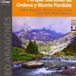 Parque Nacional de Ordesa y Monte Perdido. 2 mapas. Escala 1:25.000. Ordesa, Bujaruelo, Añisclo, Escuáin, Pineta, Torla, Broto, Bielsa, Gavarnie.