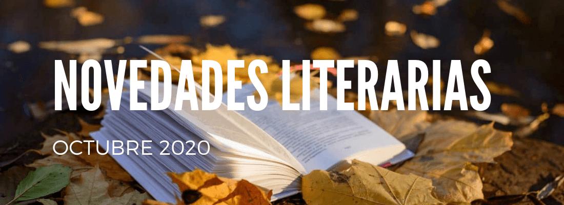 Novedades literarias octubre 2020